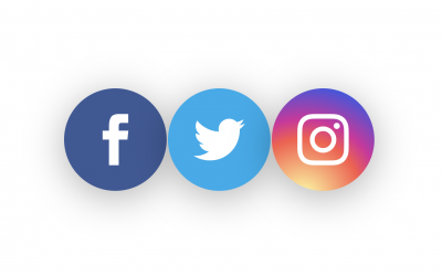 Use the Instagram Gradient for the Background of your Social Media Follow Icon