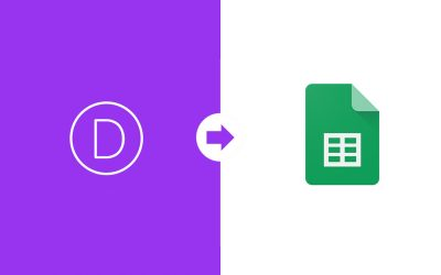 Save Divi Form Submissions to Google Sheets using Zapier [VIDEO]